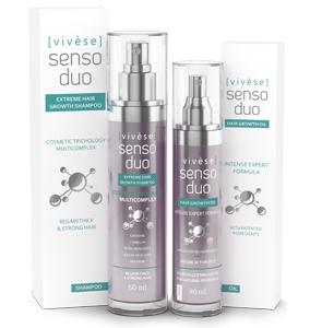 Vivese Senso Duo Shampoo – Osłabione włosy? Pragniesz środka, który zlikwiduje tenże kłopot i polepszy stan Twoich włosów raz na zawsze? To znalazłaś!