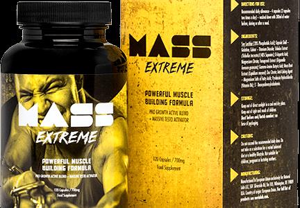 Mass Extreme – Lepsza rzeźba oraz napompowana sylwetka, to coś co osiągniesz bez problemu z Mass Extreme!
