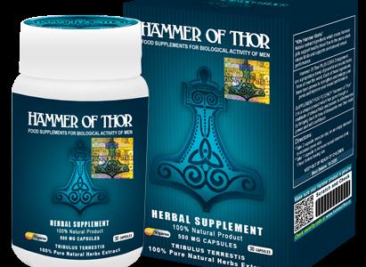 Hammer of Thor – doskonały środek, który poradzi sobie z wszelkim zaburzeniem wzwodu.